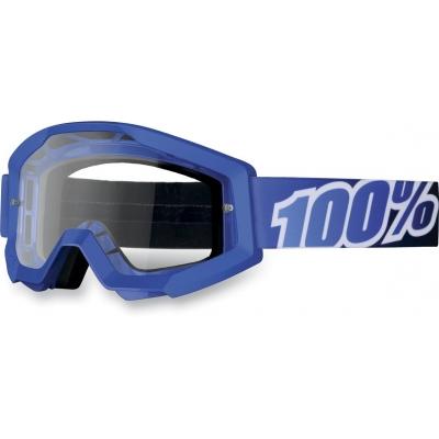 Okuliare 100% Strata blue lagoon číre
