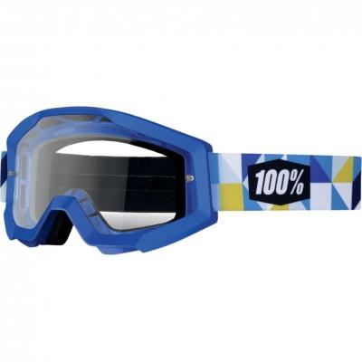 Okuliare 100% Strata frisbee číre