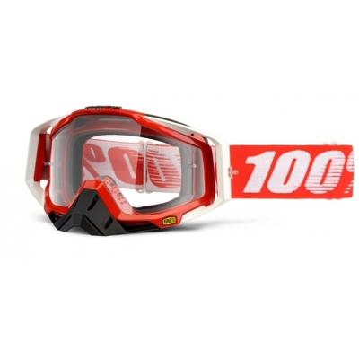 Okuliare 100% Racecraft cobalt - číre