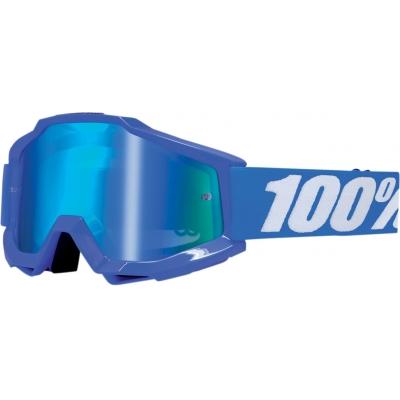 Okuliare 100% Accuri reflex blue - zrkadlové sklo modré
