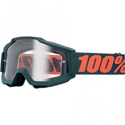 Okuliare 100% Accuri gunmetal - číre