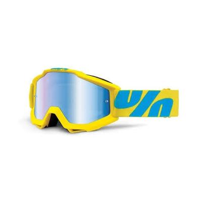 Okuliare 100% Accuri fiji - zrkadlové sklo modré