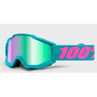 Okuliare 100% Accuri passion - zrkadlové sklo zelené