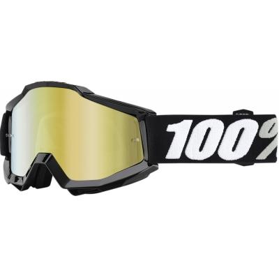 Okuliare 100% Accuri tornado - zrkadlové sklo zlaté