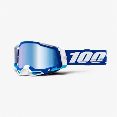 Okuliare 100% Racecraft 2, modré číre