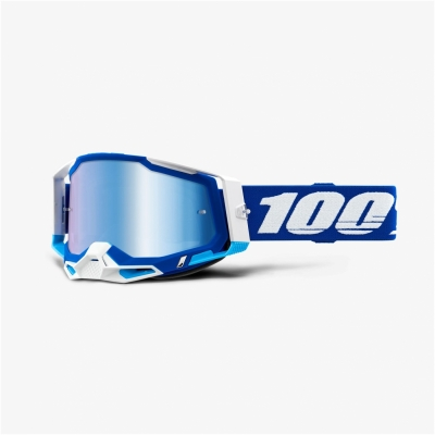 Okuliare 100% Racecraft 2, modré zrkadlové