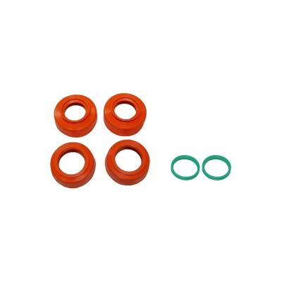 Chránič ložísk kolies oranžový KTM