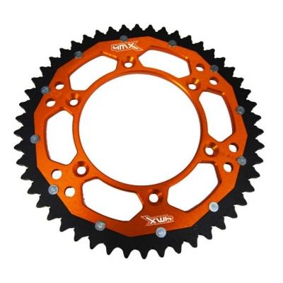 Rozeta 50z. 4MX bi-metal - oranžová - KTM SX/SXF/EXC/EXCF/XC/XCF/XCW
