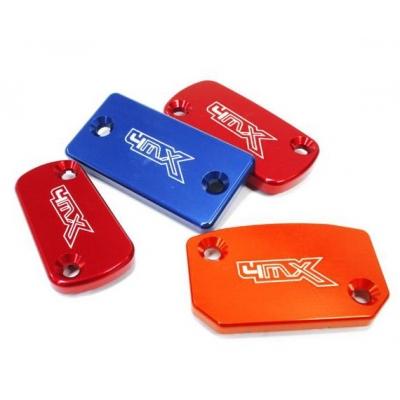 Kryt nádobky prednej brzdy 4MX červený - Yahama, Kawasaki, Suzuki