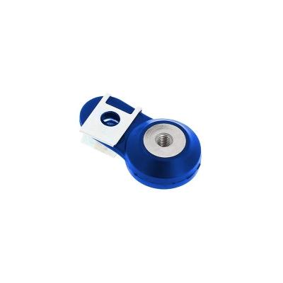 Držiak výfuku 4MX modrý