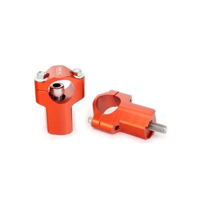 Nadstavce riaditok 4MX 52mm - oranžové KTM