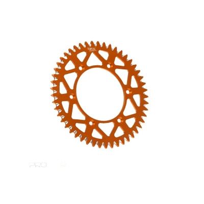Rozeta 4MX AL KTM 48z oranžová