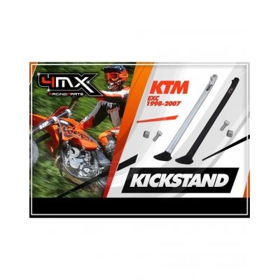 Stojan bočný 4MX KTM EXC 98-07 čierny