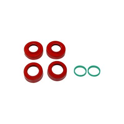 Chrániče ložísk kolies - červené 4MX - BETA