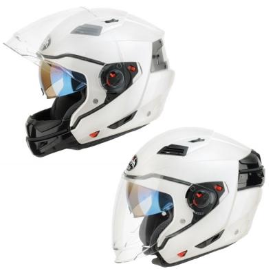 Prilba AIROH Executive veľkosť S biela, na motorku