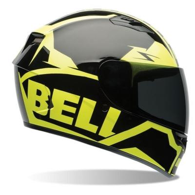 Prilba BELL Qualifier Momentum čierno žltá fluo, veľkosť L, na motorku