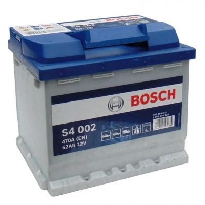 Akumulátor BOSCH 12V 52Ah 470A