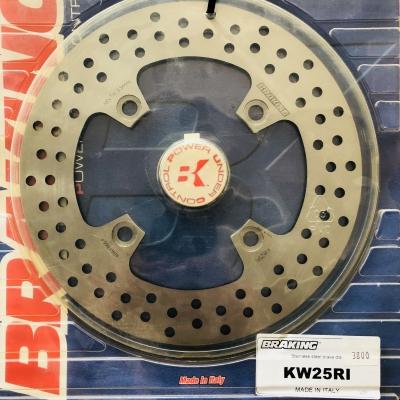Brzdový kotúč BRAKING KW25RI zadný
