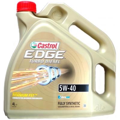 Olej Castrol EDGE Turbo Diesel 5W40 4L