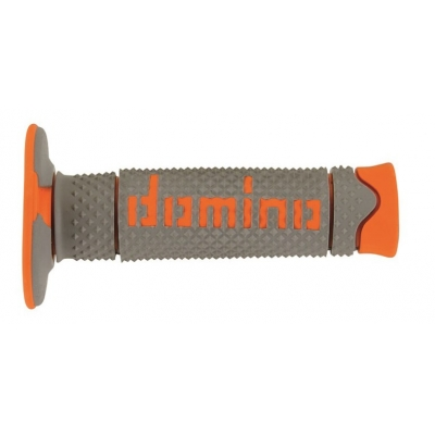 Rukoväte/ gripy Domino sivo-oranžové