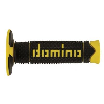 Rukoväte/ gripy Domino čierno-žlté