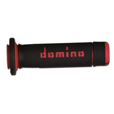 Rukoväte/ gripy Domino čierno-červené