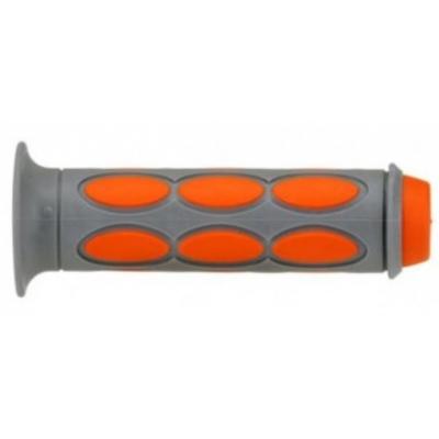 Rukoväte/ gripy Domino sivo-oranžové 3