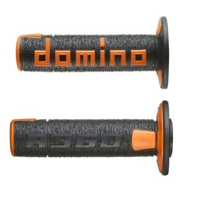 Rukoväte/ gripy Domino offroad čierno-oranžové