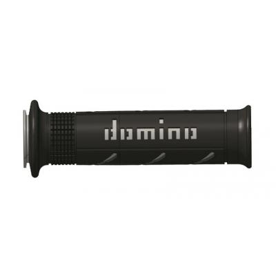 Rukoväte/ gripy Domino čierno-sivé 125mm