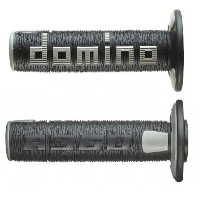 Rukoväte/ gripy Domino offroad čierno-sivé