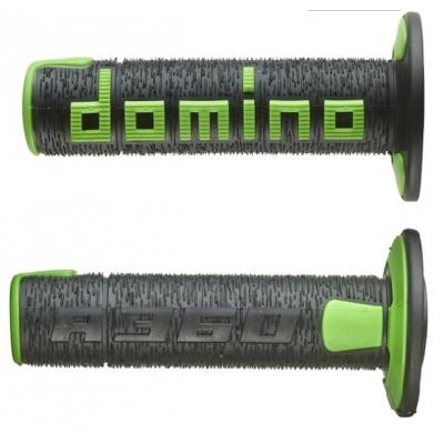 Rukoväte/ gripy Domino offroad čierno-zelené