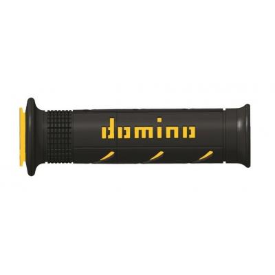 Rukoväte/ gripy Domino čierno-žlté 125mm