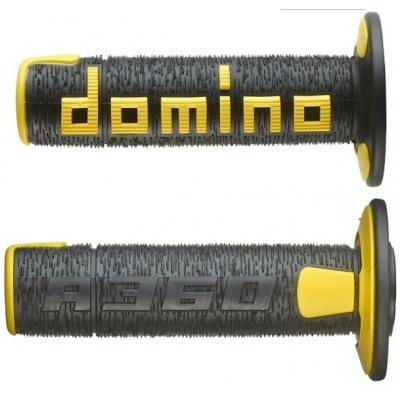 Rukoväte/ gripy Domino offroad čierno-žlté