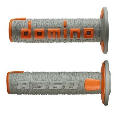 Rukoväte/ gripy Domino offroad sivo-oranžové