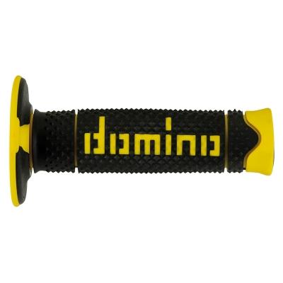 Rukoväte/ gripy Domino OFFROAD, čierno-žlté fluo, 120mm