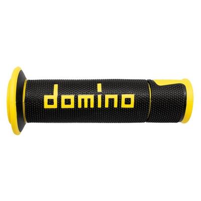 Rukoväte/ gripy Domino ROAD, čierno-žlté, 120mm/125mm