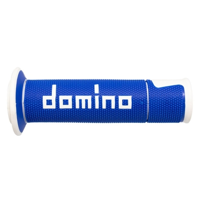 Rukoväte/ gripy Domino ROAD, modro-biele, 120mm/125mm
