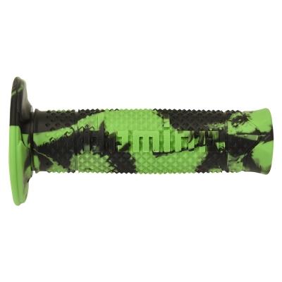 Rukoväte/ gripy Domino OFFROAD, zeleno-čierne,120mm
