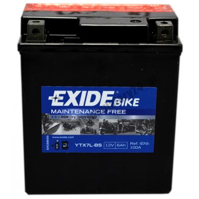 Akumulátor EXIDE 12V 6Ah YTX7L-BS