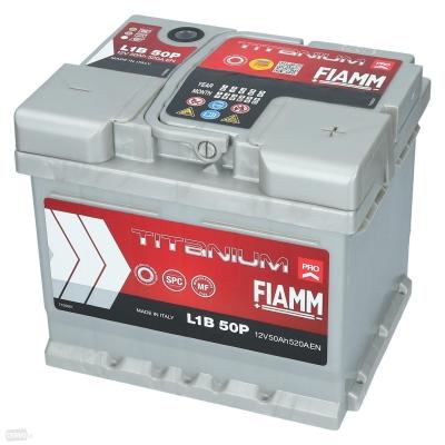 Akumulátor FIAMM PRO L1B50P 12V 50Ah