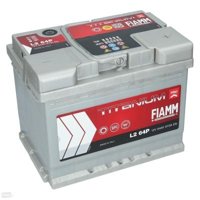 Akumulátor FIAMM PRO L264P 12V 64Ah