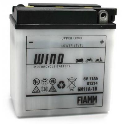 Akumulátor FIAMM 6N11A-1B 6V 11Ah