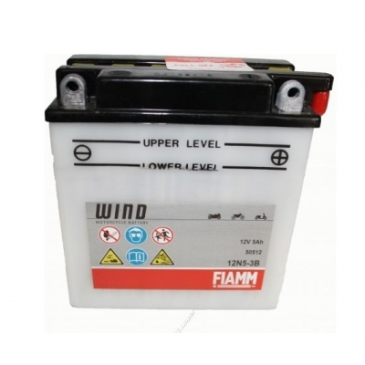 Akumulátor FIAMM 12N5-3B 12B 5Ah