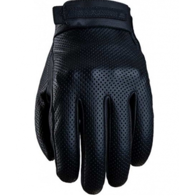 Kožené rukavice FIVE MUSTANG, čierne