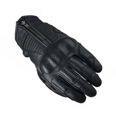 Kožené rukavice FIVE KANSAS, čierne