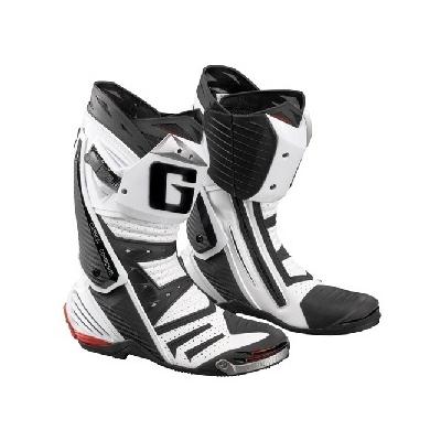 Cestné čižmy Gaerne GP1 Air čierno-biele, na motorku