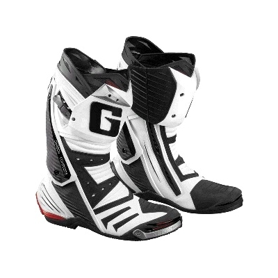 Cestné čižmy Gaerne GP1 čierno-biele, na motorku