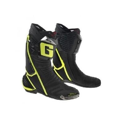 Cestné čižmy Gaerne GP1 čierno-žlté, na motorku