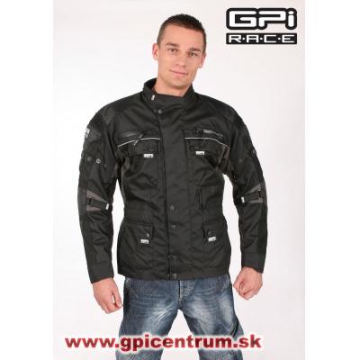 Pánska textilná bunda GPI - čierna 2