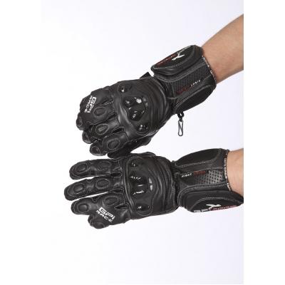 Univerzálne kožené rukavice GPI s chráničmi